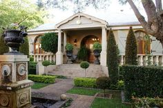 Morrells Farmhouse - Morrells Farmhouse is situated on the Morrells Estate amidst neatly trimmed gardens.  It was built in the late 1800s by the early Dutch settlers, and was the first house built in Northcliff, then a dairy ... #weekendgetaways #johannesburg #southafrica
