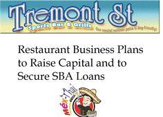 Business Plans for Restaurants