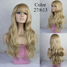 """Aliexpress.com : Buy Synthetic Wigs 28"""" Long Ash Blonde Wig Curly Drag Queen Heat Resistant Cheap Fake Hair african american afro wig for black women from Reliable wig heads for sale suppliers on Aisi Hair  