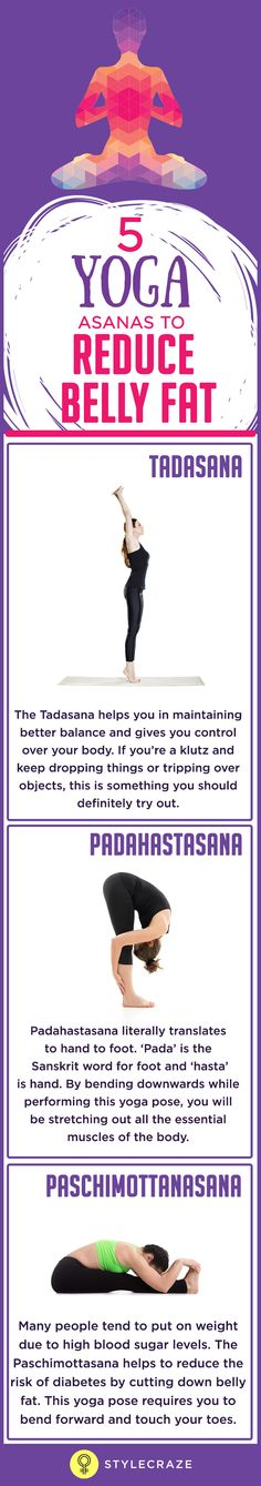 The Tadasana helps you in maintaining better balance and gives you control over your body. If you're a klutz and keep dropping things or tripping over objects, this is something you should definitely try out. When performing this asana, you are stretching your entire body as you reach for the sky.