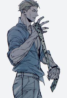 Dark Anime Guys, All Anime, Manga, Daddy Issues, Fanarts Anime, Nanami, Attack On Titan Anime, Art Reference, Fan Art