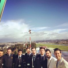 Segundo grupo de la visita a la torre de control ✈️ #ferronats #pilotlife #flightskool