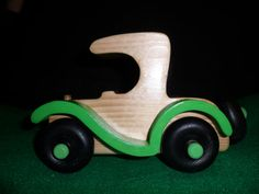 toy wooden car by dreamwvr81 on Etsy, $12.00