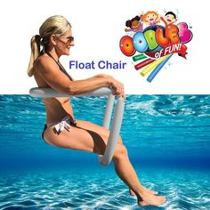 Power Lounger Floating Pool (Blue) Noodle Water Chair Comfortable and Relaxing Extra Floatation Above Ground Pool, In Ground Pools, Lake Toys, Pool Chairs, Floating Lounge Chairs, Bag Chairs, Chair Exercises, Pool Accessories, My Pool