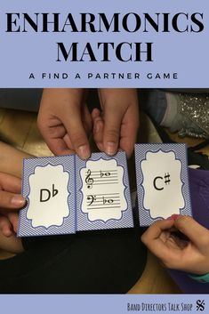 Music teachers, this fun enharmonics note name game will get your children or teens up, moving & having fun! This music game is perfect for middle school or elementary music classrooms. You will love tackling tricky enharmonics and chromatic spellings w/ these fun activities for kids. The printable game is also great for beginning band, choir, piano or orchestra classes. Well suited for both large groups and small groups-awesome for centers! Music theory review can be fun with gmaes!