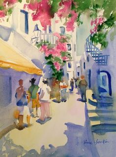 Liana Yarckin  WATERCOLOR
