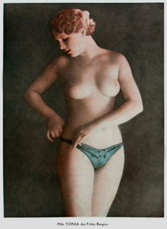Mademoiselle Tonia of the Folies Bergere.