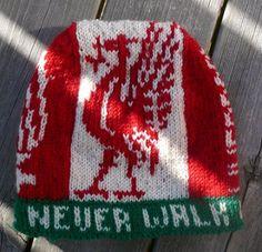 Ravelry: You'll never walk alone pattern by Tori Seierstad Crochet Hooks, Knit Crochet, You'll Never Walk Alone, Walking Alone, Beanie Pattern, Fair Isle Knitting, Liverpool, Ravelry, Knitted Hats