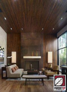 Combinando piso e móveis - ParquetSP - Piso de madeira, escadas de madeira…