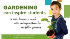 How a garden can inspire students