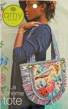 This tote bag is the perfect bag to get creative with embellishments such as beading and embroidery.