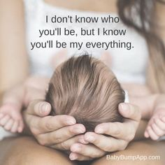 SO excited to find out! #newborn ~I don't know who you'll be, but I know you'll be my everything!