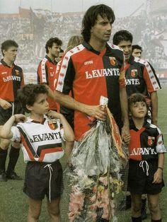 "Gianluca Signorini (Genoa, 1989), ""il capitano"" Genoa Cfc, Football Team, Baseball Cards, Cricket, Club, Red, Faces, Football Squads"