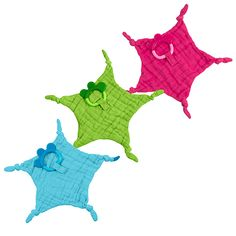 green sprouts® Blankie Teether made from Organic Cotton   Soothes gums & promotes oral development