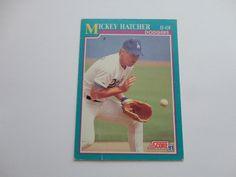 Mickey Hatcher 1991 Score Baseball Card.