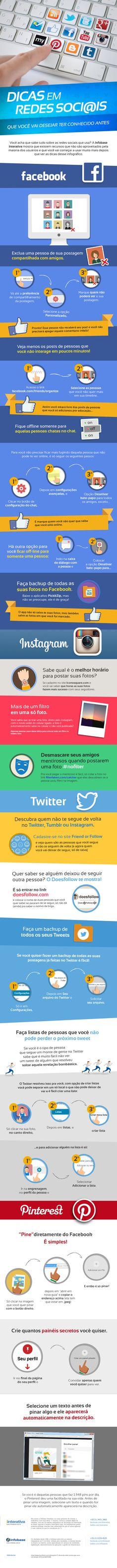 Você conhece bem as principais ferramentas presentes nas redes sociais?