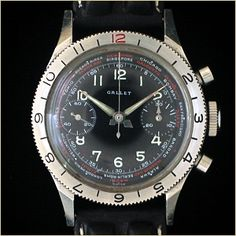 The Gallet Flight Officer Chronograph...