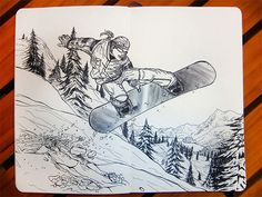 Snowboard by AlbertoCN