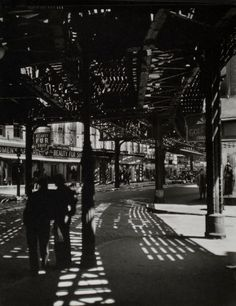 Berenice Abbott's photographs of New York. Beautiful work and a great book, if you're interested.