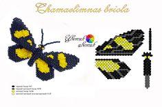 По просьбе Lara_businka решено разделить бабочек и схемы для ткачества в разные посты: ))