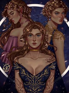 A Court Of Wings And Ruin, A Court Of Mist And Fury, Fanart, Charlie Bowater, Roses Book, Sara J Maas, Feyre And Rhysand, Sarah J Maas Books, Throne Of Glass Series