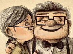Up de Pixar... la aventura continúa cuando se ha vivido enamorado.