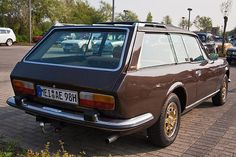 Never knew about that but I like it: Peugeot 504 Shooting Brake