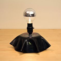 Melted Record Lamp now featured on Fab.