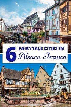 Six Magical Villages to Love in Alsace, France From Strasbourg to Colmar and lot of small villages on the wine road in between, here& a look at six lovely cities in Alsace, France Source by di. Best Spring Break Destinations, Europe Destinations, Honeymoon Destinations, Europe Travel Guide, Travel Guides, Travel Hacks, Budget Travel, Paris Travel, France Travel