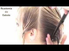 """Como cortar o cabelo, CORTE DEGRADÊ CURTO - Feminino - YouTube  """"Ver"""""""