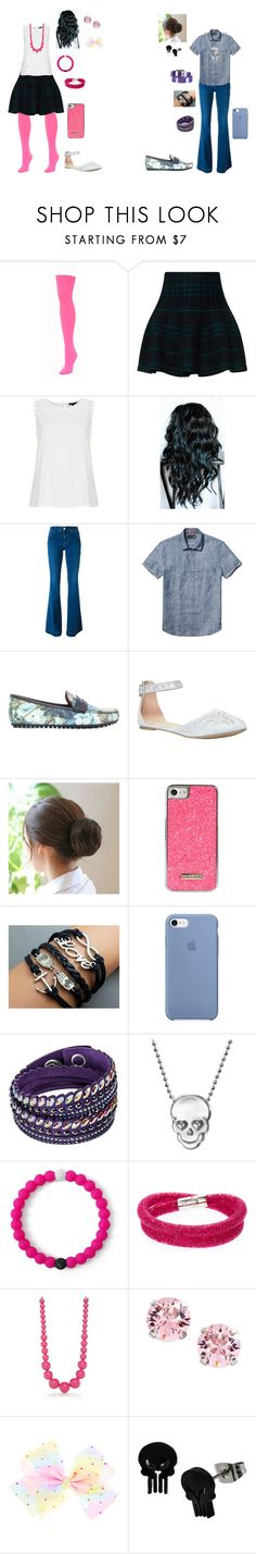 """""""Girly Girl vs Tomboy: 2nd surprise outfits"""" by sierra-ivy on Polyvore featuring We Love Colors, Topshop, STELLA McCARTNEY, Scotch & Soda, Gucci, Skinnydip, Swarovski, Alex Woo, Lokai and Kim Rogers"""