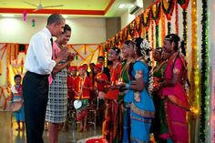 Obama celebrating Diwali