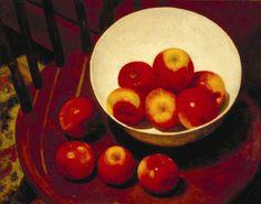 Arthur Segal - Apples in a Bowl