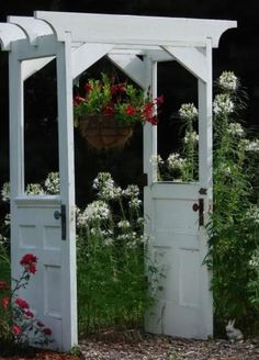 Love this idea for garden