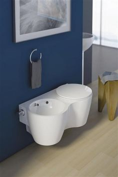 twin by ideal standard stupisci con un #design diverso #wc #toilet #ideebagno #casa #bathroom