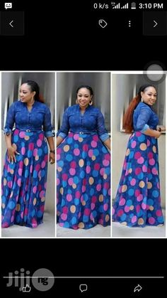 66e51fa6a4 Poker Dots Long Turkey Gown for sale in Lagos Island
