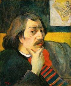 Self-Portrait, 1893, Paul Gauguin