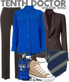 Inspired by David Tennant as the Tenth Doctor from Doctor Who.