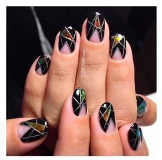 101 Glass Nail Arts That Will Make You Say WOW - Page 26 of 103 - The Glamour Lady