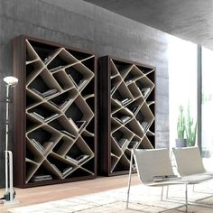 bookcase by Alivar
