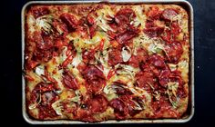 Hot And Sweet Soppressata And Fennel Grandma Pie If you prefer a spicy pie, use twice as much hot soppressata and none of the sweet type.