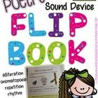 This interactive flipbook is the perfect note taker for engaging students in their learning of sound devices used in poetry!  What You Get: 1. Deta...