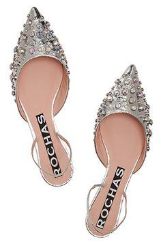 Bam! 16 Silver Shoes That Electrify #refinery29 http://www.refinery29.com/silver-shoes#slide4