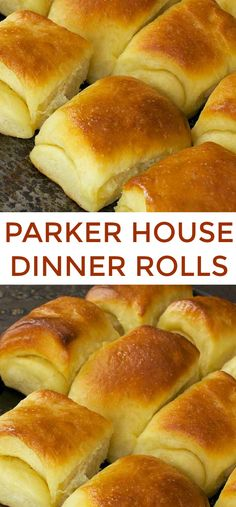 PARKER HOUSE DINNER ROLLS. These feather-light, buttery rolls were a 19th-century staple of the Parker House, a famous Boston hotel