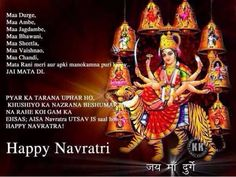 Happy Navratri Images, Maa Durga Pictures & Message For Whatsapp - The Greetings Navratri Greetings, Happy Navratri Wishes, Happy Navratri Images, Durga Maa, Durga Goddess, Navratri Pictures, Dasara Wishes, Durga Picture, Navratri Messages