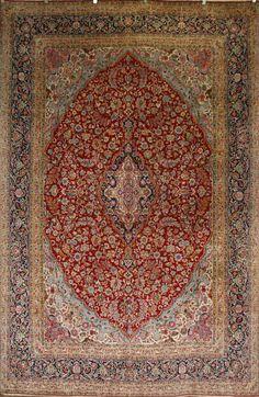 Handmade Kerman Rug (Ref: 751) by Little-Persia