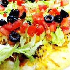 Mexican Pizza - I want to combine this with another recipe I have.  Together they should make a tasty pizza.