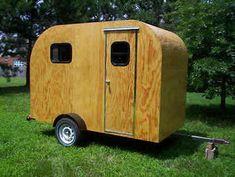 TEARDROP Camper Trailer PLANS 5x10 Tear Drop RV Camp #2