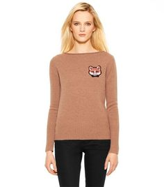 Samantha Sweater | Womens Pullovers | ToryBurch.com    why does this sweater have to be so expensive?? i've been drooling over it since june!