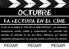 """La Claqueta de Octubre """"La lectura en el cine"""""""